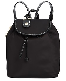 Tommy Hilfiger Julia Nylon Drawstring Backpack