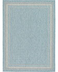 Pashio Pas5 Aquamarine 9' x 12' Area Rug