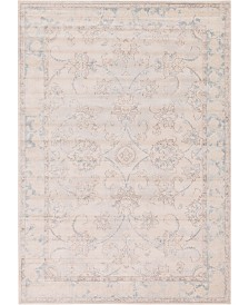 Bridgeport Home Caan Can6 Beige 7' x 10' Area Rug