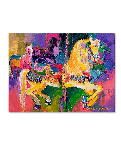 "Trademark Global Richard Wallich 'Artcar 2' Canvas Art - 18"" x 24"""