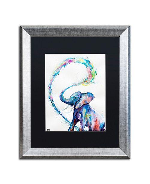 """Trademark Global Marc Allante 'Veris' Matted Framed Art - 16"""" x 20"""""""