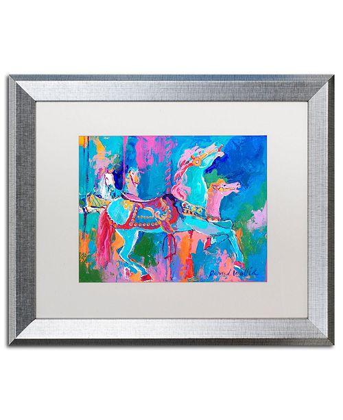 """Trademark Global Richard Wallich 'Artcar 1' Matted Framed Art - 16"""" x 20"""""""