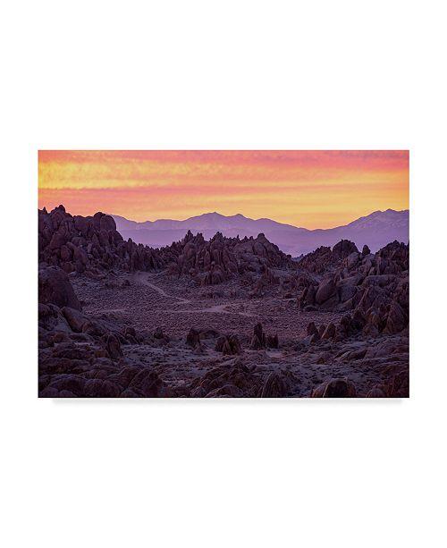 "Trademark Global Lance Kuehne 'Surreal Dawn' Canvas Art - 16"" x 24"""