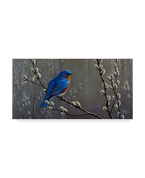 "Trademark Global Wilhelm Goebel 'Signals Of Spring' Canvas Art - 16"" x 32"""