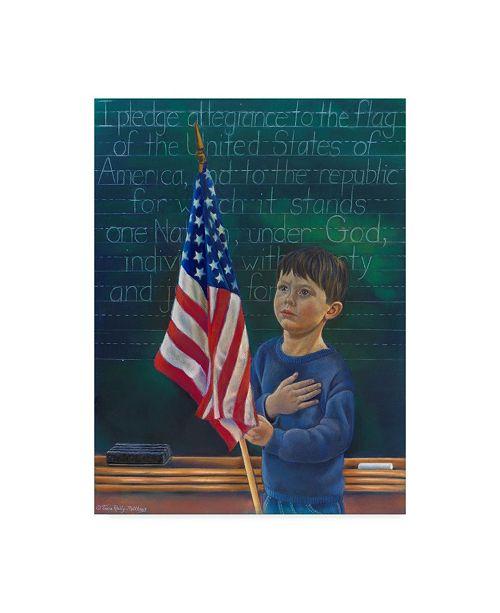 "Trademark Global Tricia Reilly-Matthews 'Remember' Canvas Art - 18"" x 24"""