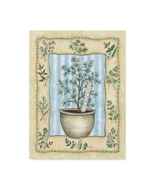 "Trademark Global Robin Betterley 'Rosemary' Canvas Art - 18"" x 24"""