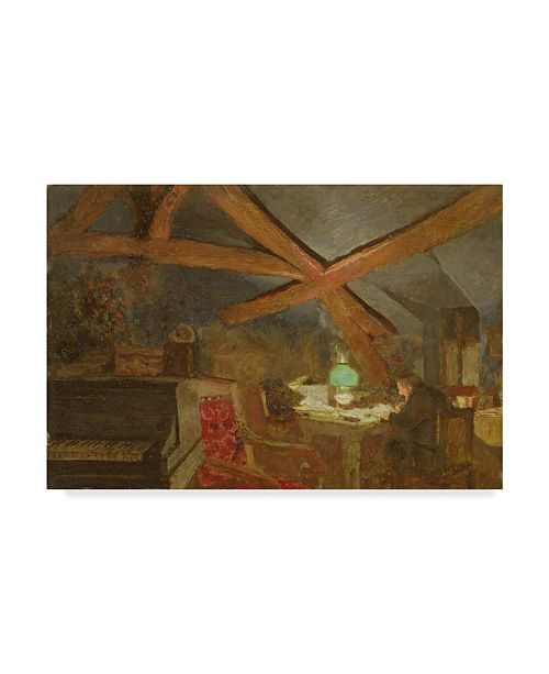 "Trademark Global Edouard Vuillard 'The Attic' Canvas Art - 24"" x 16"""