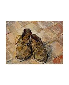 "Vincent Van Gogh 'Shoes' Canvas Art - 19"" x 14"""