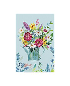"Irina Trzaskos Studio 'Garden Flag 4' Canvas Art - 22"" x 32"""