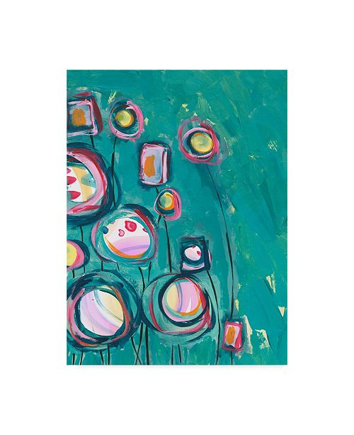"Trademark Global Jennifer Mccully 'Pick Me' Canvas Art - 14"" x 19"""