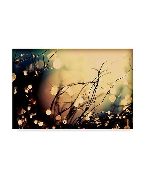 "Trademark Global Incredi 'Summer Nights 2' Canvas Art - 24"" x 16"""