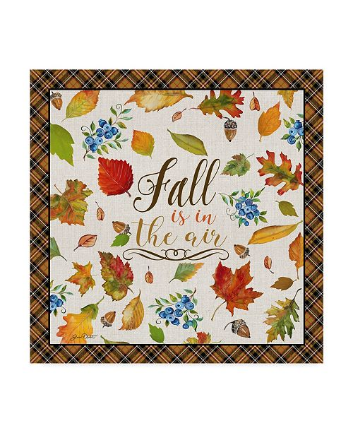 "Trademark Global Jean Plout 'Fall Is In The Air' Canvas Art - 14"" x 14"""