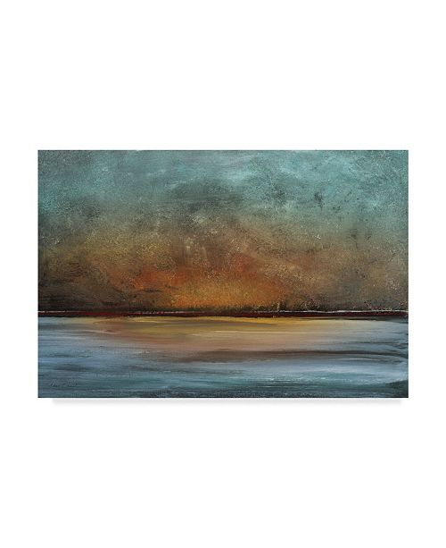 """Trademark Global Jean Plout 'Soothing Sunset Landscape' Canvas Art - 24"""" x 16"""""""