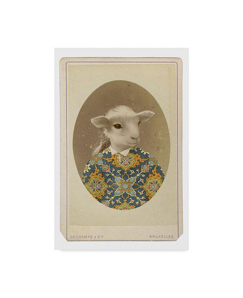 "Trademark Global Philippe Debongnie 'Family Album Marguerite' Canvas Art - 12"" x 19"""