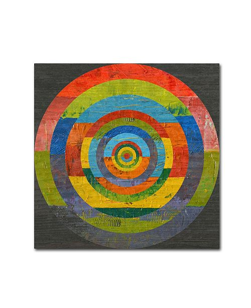 "Trademark Global Michelle Calkins 'Full Circle 2.0' Canvas Art - 24"" x 24"""