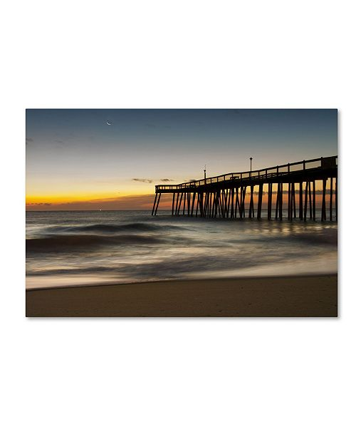 "Trademark Global PIPA Fine Art 'Motion of the Ocean' Canvas Art - 22"" x 32"""