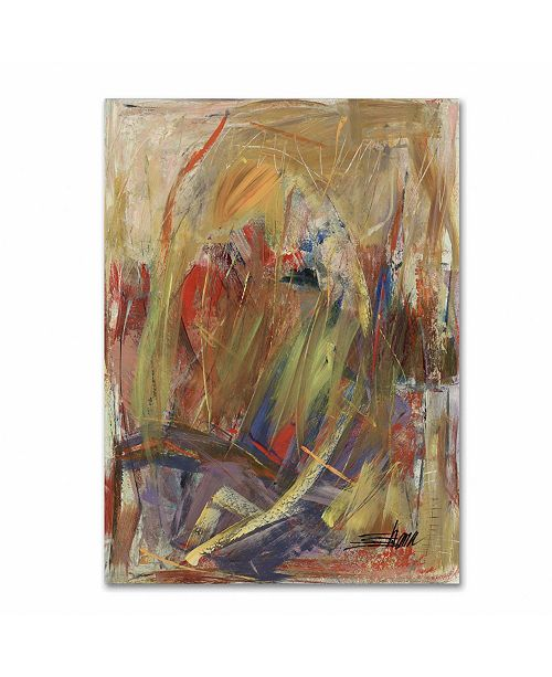 "Trademark Global Shana Doumingez 'Held in High Regard' Canvas Art - 24"" x 32"""