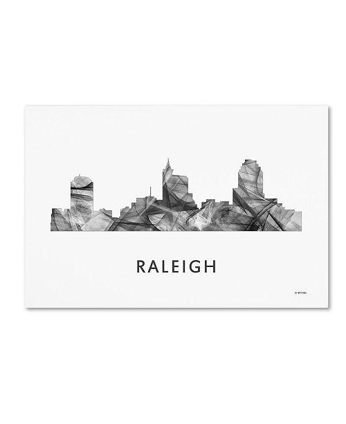 Home Decor Stores Raleigh Nc: Trademark Global Marlene Watson 'Raleigh North Carolina