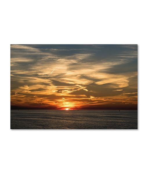 "Trademark Global Kurt Shaffer 'Best Sunset Maybe Ever' Canvas Art - 22"" x 32"""