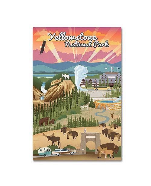 "Trademark Global Lantern Press 'Animal 3' Canvas Art - 30"" x 47"""