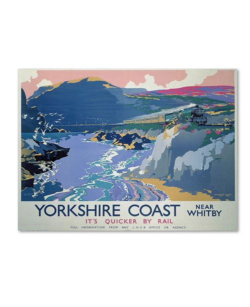 "Trademark Global Vintage Apple Collection 'Yorkshire' Canvas Art - 35"" x 47"""