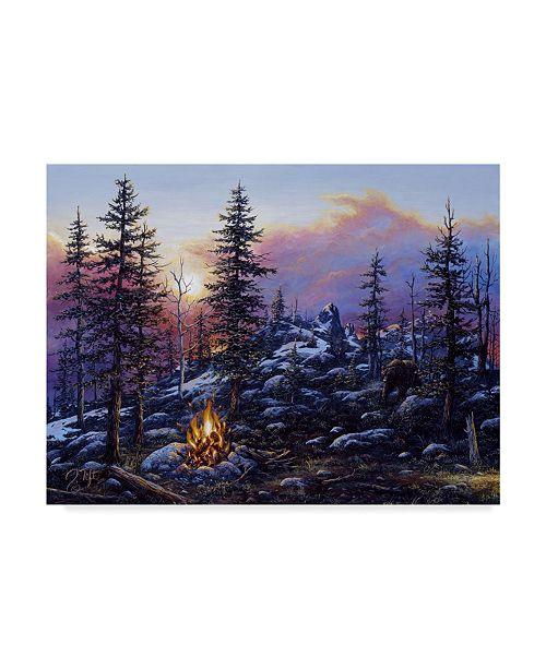 "Trademark Global Jeff Tift 'The Intruder' Canvas Art - 35"" x 47"""