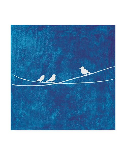"Trademark Global Nicole Dietz 'Spreading Wings Lesson' Canvas Art - 35"" x 35"""