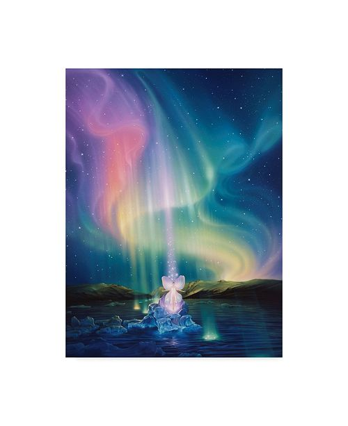 "Trademark Global Kirk Reinert 'Crystal Beams' Canvas Art - 24"" x 32"""