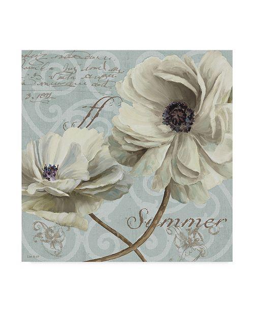 "Trademark Global Lisa Audit 'Blue Summer VII' Canvas Art - 35"" x 35"""
