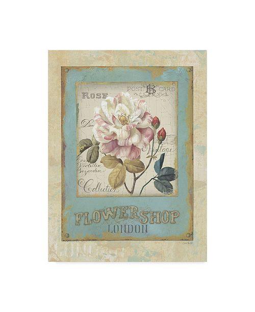 "Trademark Global Lisa Audit 'Flower Shop I' Canvas Art - 35"" x 47"""