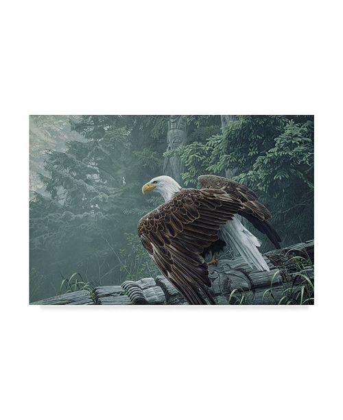 """Trademark Global Ron Parker 'Fallen Totem' Canvas Art - 30"""" x 47"""""""
