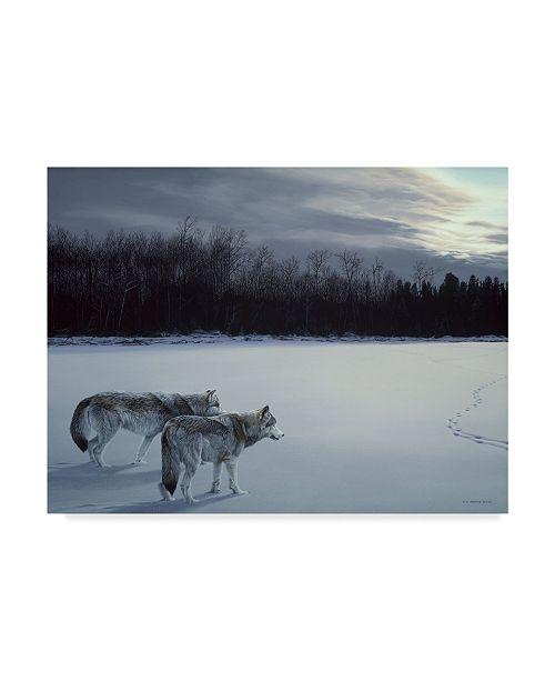 """Trademark Global Ron Parker 'When Paths Cross' Canvas Art - 35"""" x 47"""""""