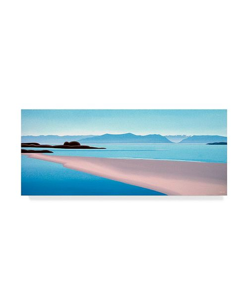 "Trademark Global Ron Parker 'Wittys Lagoon Middle' Canvas Art - 20"" x 47"""