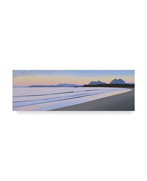 """Trademark Global Ron Parker 'Long Beach Morning' Canvas Art - 8"""" x 24"""""""