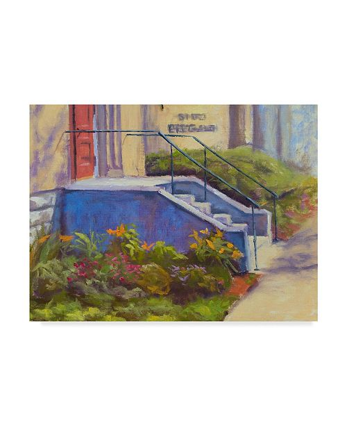 "Trademark Global Rusty Frentner 'Urban Garden' Canvas Art - 24"" x 32"""