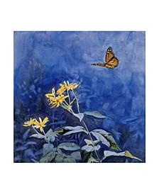 "Rusty Frentner 'Monarch Butterfly' Canvas Art - 24"" x 24"""