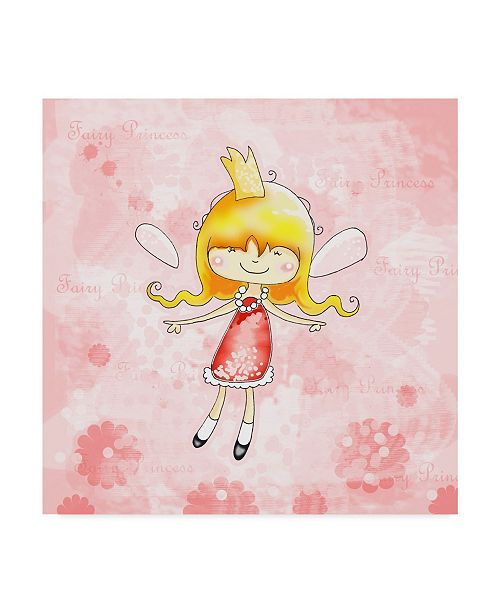 "Trademark Global Valarie Wade 'Fairy Princess' Canvas Art - 24"" x 24"""