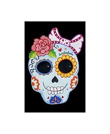 """Valarie Wade 'Sugar Skull' Canvas Art - 30"""" x 47"""""""