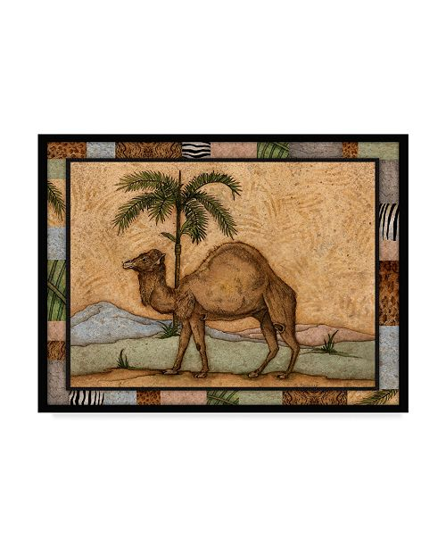 "Trademark Global Robin Betterley 'Camel' Canvas Art - 24"" x 18"""