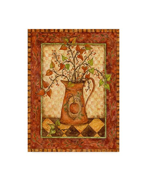 "Trademark Global Robin Betterley 'Pumpkin Pitcher' Canvas Art - 35"" x 47"""