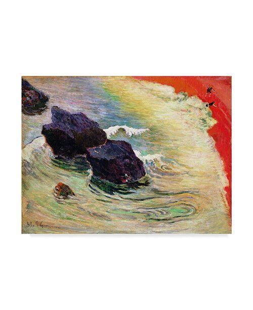 "Trademark Global Paul Gauguin 'The Wave' Canvas Art - 32"" x 24"""