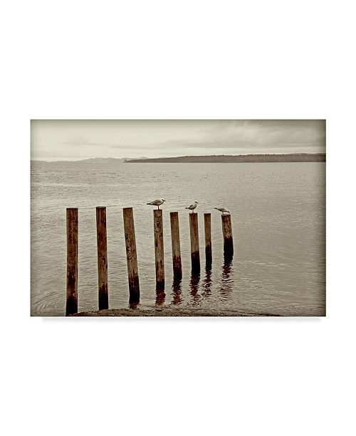 """Trademark Global Incredi 'Moments Passing By' Canvas Art - 47"""" x 30"""""""