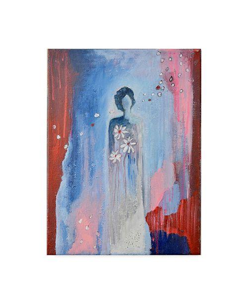 "Trademark Global Jane Hinchliffe 'Faded Beauty' Canvas Art - 35"" x 47"""