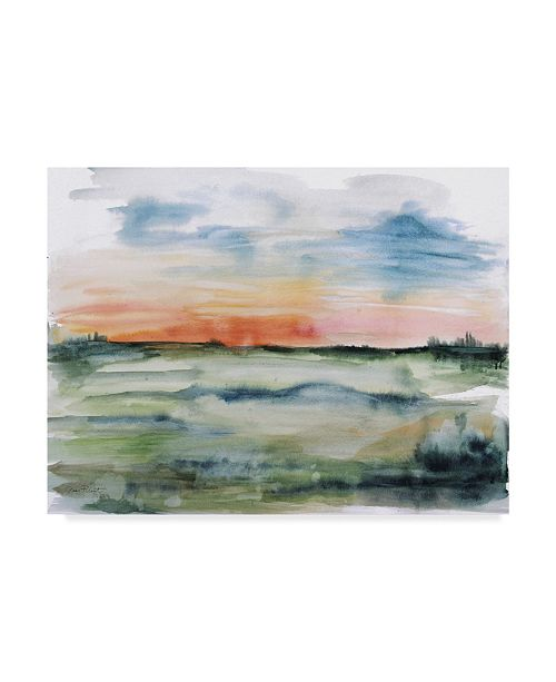 "Trademark Global Jean Plout 'Watercolor Landscape' Canvas Art - 32"" x 24"""