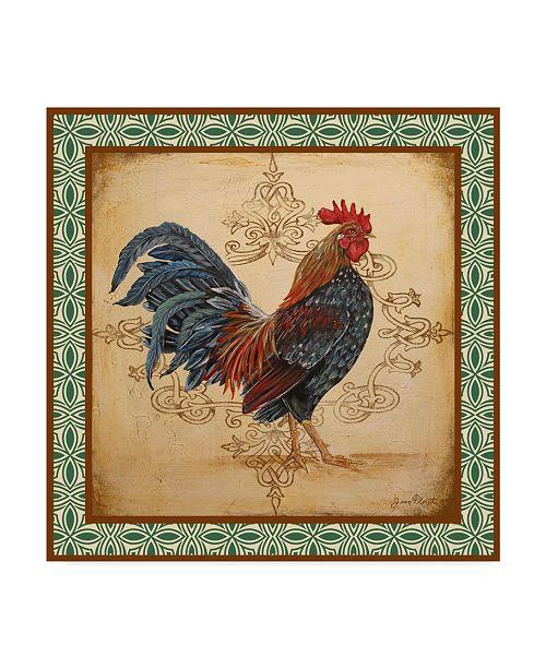 "Trademark Global Jean Plout 'Cockadoodledoo 1' Canvas Art - 35"" x 35"""