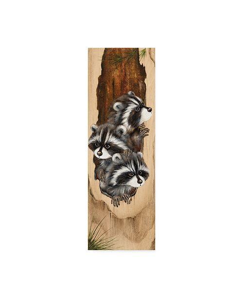 "Trademark Global Peggy Harris 'Just Looking' Canvas Art - 6"" x 19"""