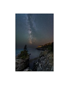 """Michael Blanchette Photography 'Stars Over Quoddy Channel' Canvas Art - 30"""" x 47"""""""
