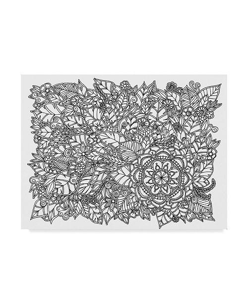 """Trademark Global Nicky Kumar 'Flowers Forever' Canvas Art - 32"""" x 24"""""""