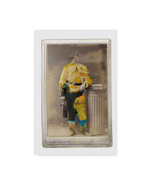 "Trademark Global Philippe Debongnie 'Family Album Bill' Canvas Art - 30"" x 47"""