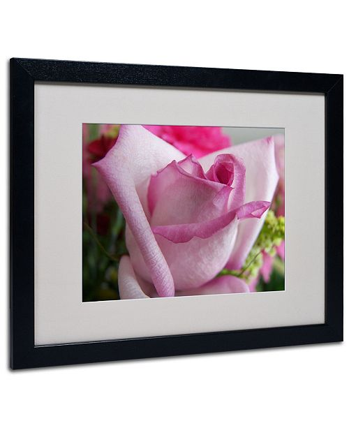 """Trademark Global Monica Fleet 'Deep Desire' Matted Framed Art - 20"""" x 16"""""""